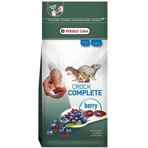 Crock Complete rats, souris, gerbilles, hamsters - 50g, saveur: Berry (fruits rouges)