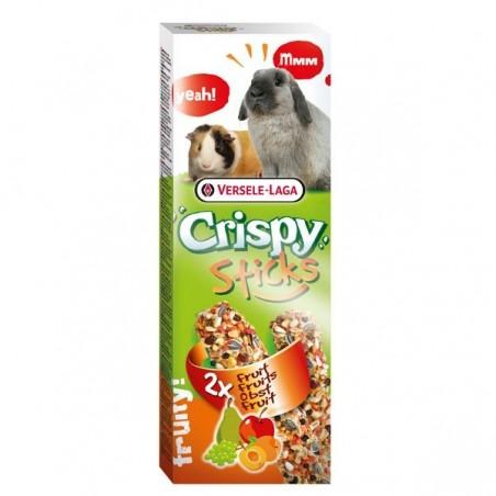 Crispy Sticks Lapins-Cobayes Fruits - 2 x 55g
