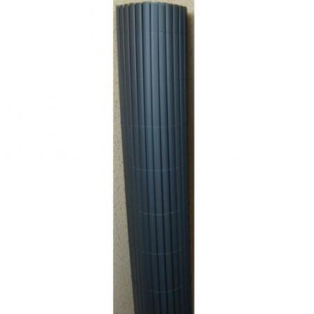 Canisse PVC Double Face gris anthracite - Rouleau