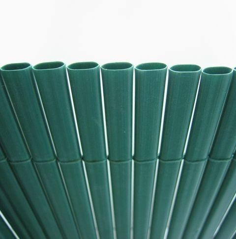 Canisse PVC Double Face vert, Variante: Ht.1.8 x Lg.3 m