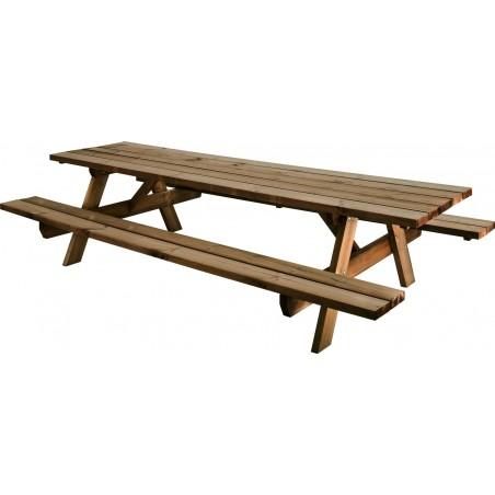 Table de pic-nic en bois Garden 300