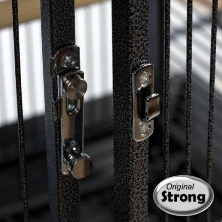 Cage pour petits becs crochus: Minerva avec fermeture sécurisée