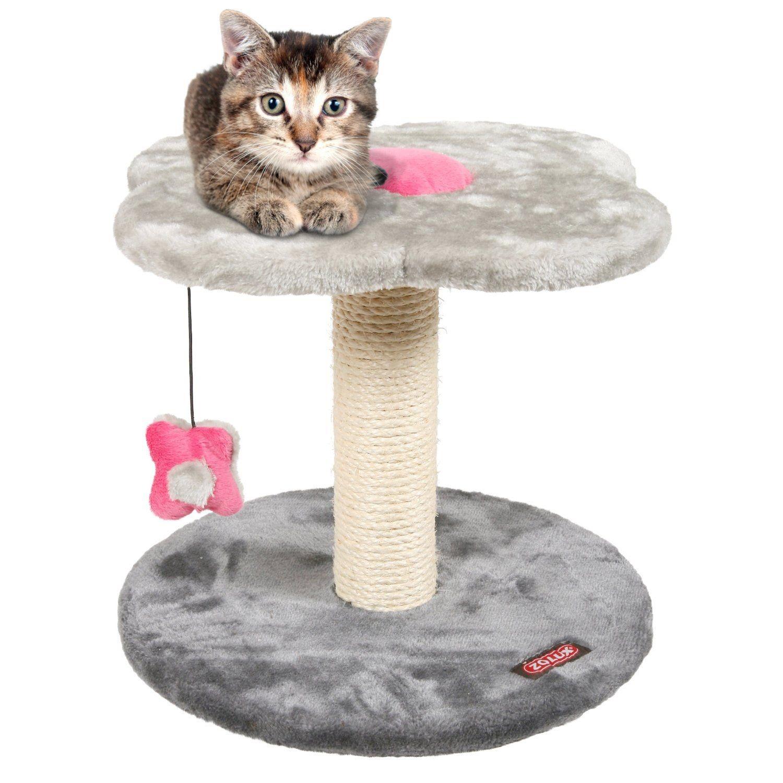 Arbre à chat Anis petite taille Zolux, Couleur: Gris