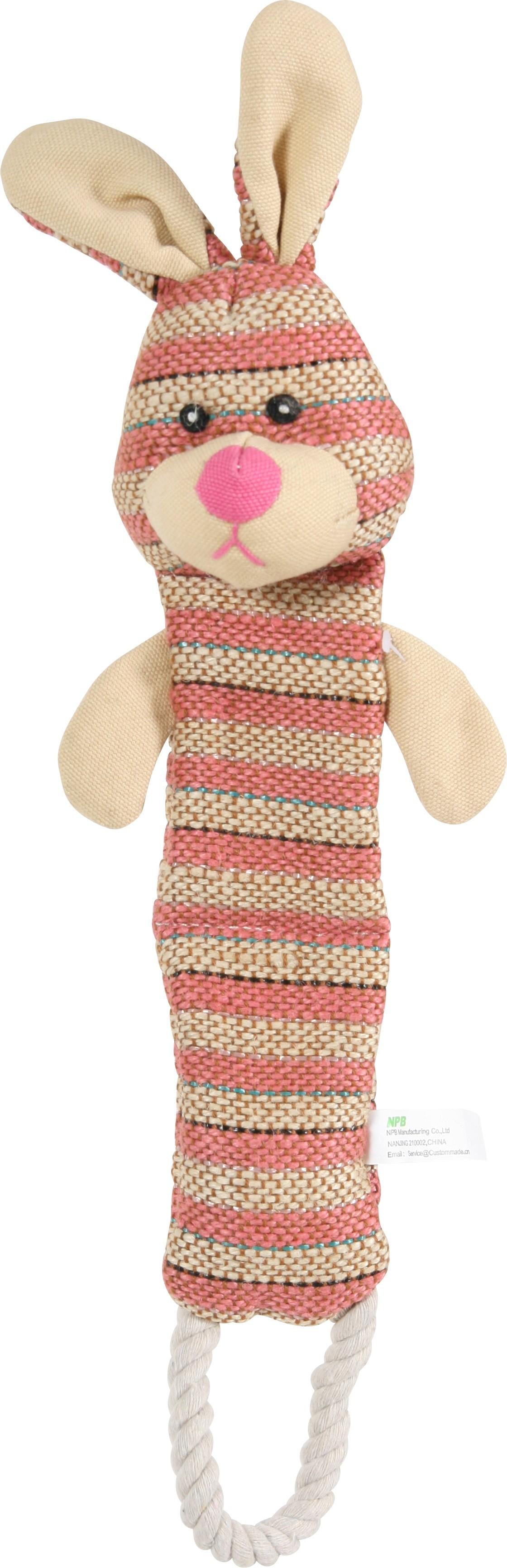Jouet chien Tissu Lapin 33 cm