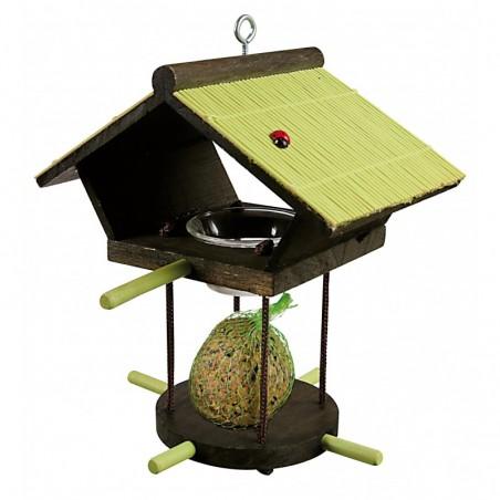 Mangeoire Oiseaux à suspendre Vert
