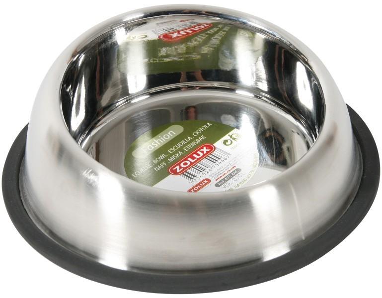 Bol pour chien Inox anti-dérapant, contenance: 0.70 L