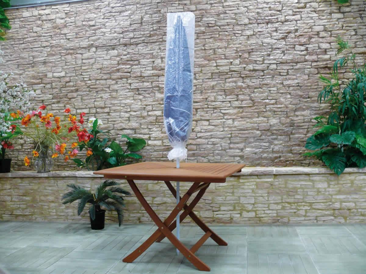 Housse pour parasol droit Ht 150 cm
