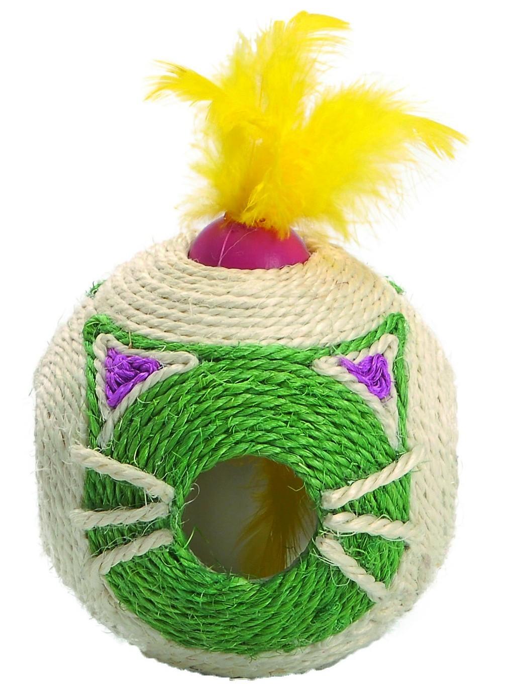Griffoir pour chat Tête à tête, Couleur: Vert