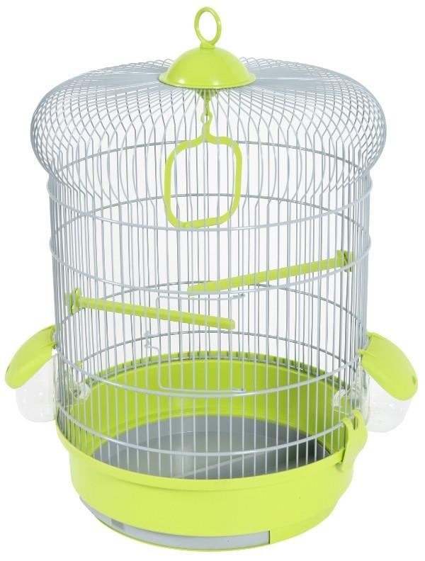 Cage oiseaux Coquelicot Zolux, Couleur: Vert