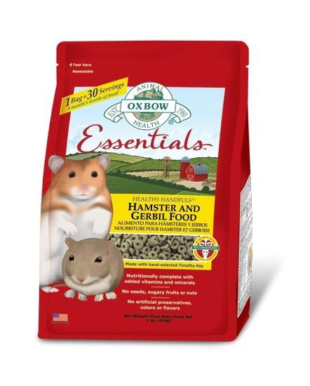 Hamster and Gerbil granulés Oxbow 450g