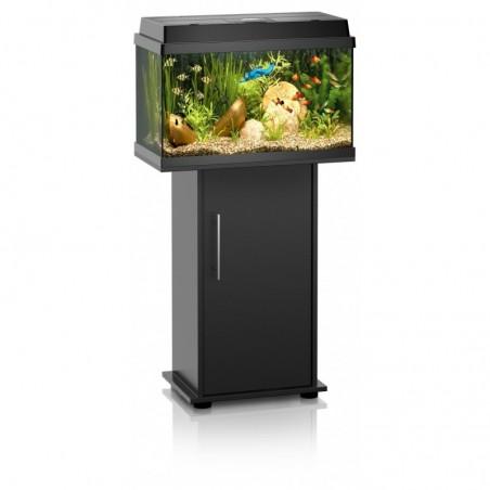 Aquarium Rekord 600 + meuble porte noir