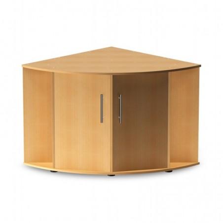 Aquarium d'angle Trigon 350 hêtre + meuble