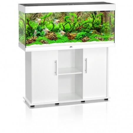 Aquarium Juwel Rio 240 blanc + meuble