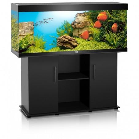 Aquarium Juwel Rio 400 noir + meuble
