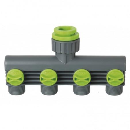 Nez de robinet sélecteur 4 circuits 26x34 (1'')