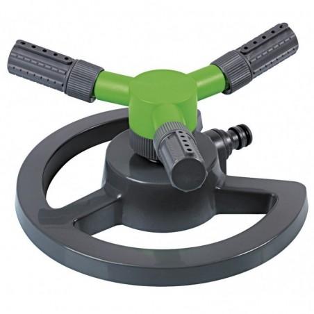 Arroseur rotatif plastique sur base