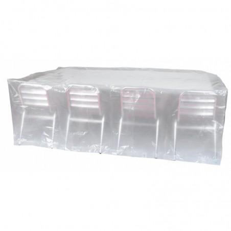 Housse de protection rectangulaire pour table et chaises