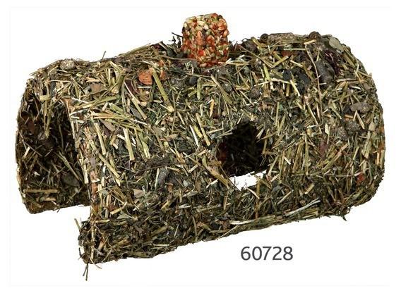 Grotte avec barre végétale 15x13x25 cm