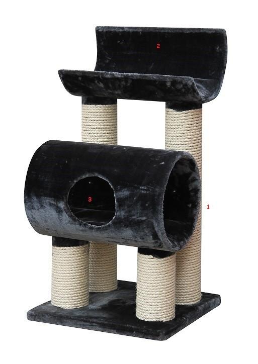Arbre à chat Maine Coon XL Tivoli Gris
