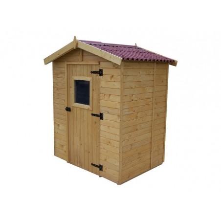 Abri bois panneau 16mm - 2.61 m²