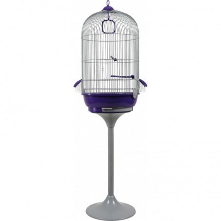 Cage oiseaux Amarante + pied