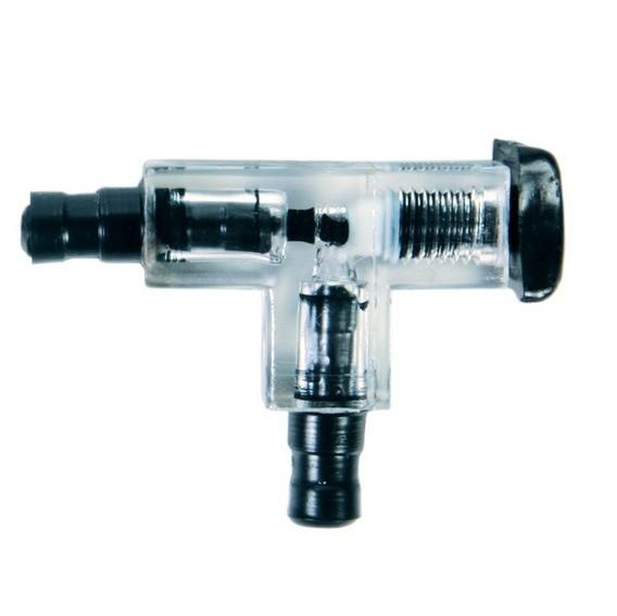 Connecteur en T avec valve ø 5mm
