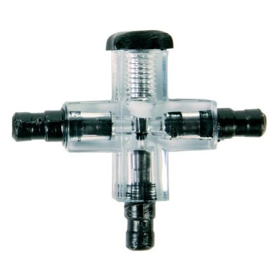 Connecteur croisé avec valve ø 5mm