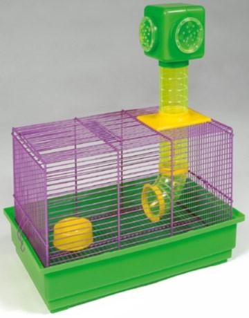 Cage souris Réglisse + une maisonnette offerte