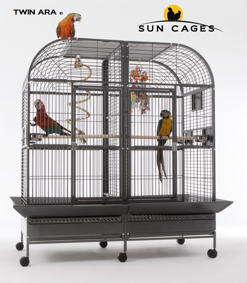 Cage pour perroquet Twin Ara