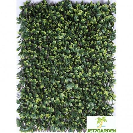 Treillis feuilles Troène doré 1 x 2 m