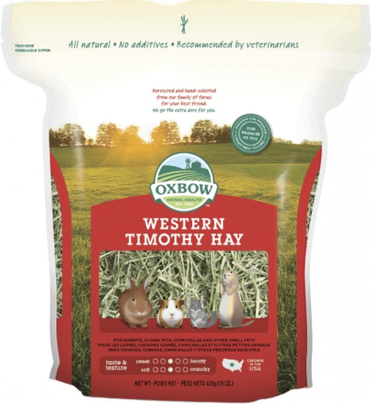 Foin Western Timothy Oxbow, sac: 1.134 Kg