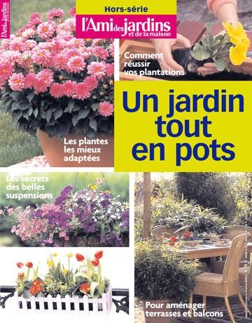 Un jardin tout en pot