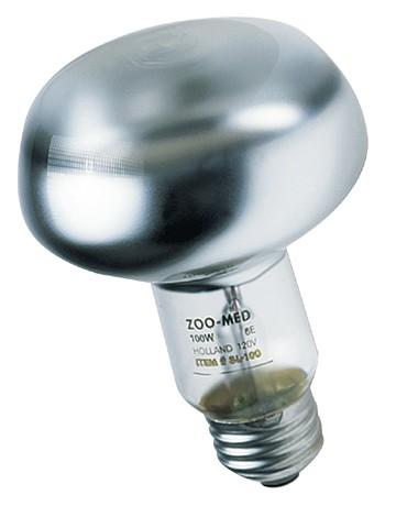 Lampe spot Zoo Med pour terrarium, puissance: 100 w