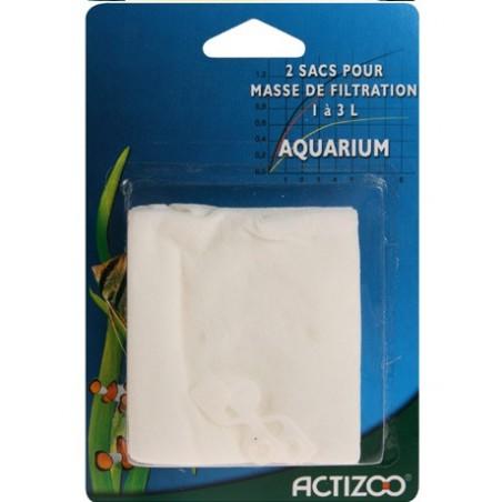Sacs pour masse de filtration d'aquarium
