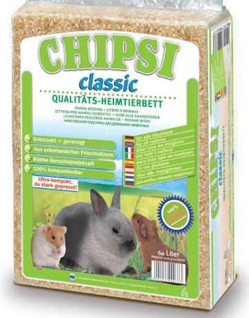 Litière en copeaux Chipsi Classic, contenance: 60 l - 3.6 kg