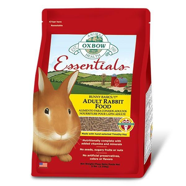 Bunny Basics/T Oxbow lapins adultes, sac: 4.5 Kg