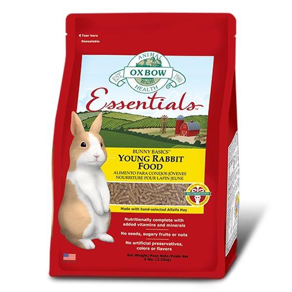 Bunny Basics 15/23 Oxbow lapereaux, sac: 2.25 Kg