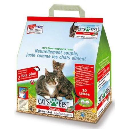 Litière pour chat Cat's Best Oko Plus