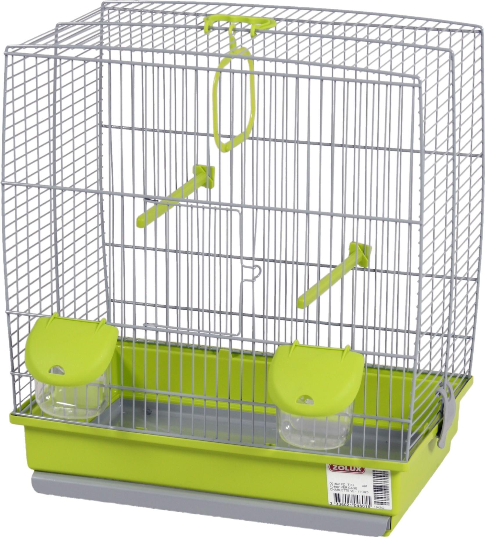 Cage oiseaux Charlotte Zolux, Couleur: Vert