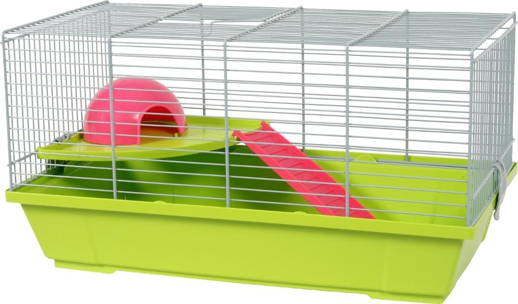 Cage hamster Cachou Plus Zolux, Couleur: Vert