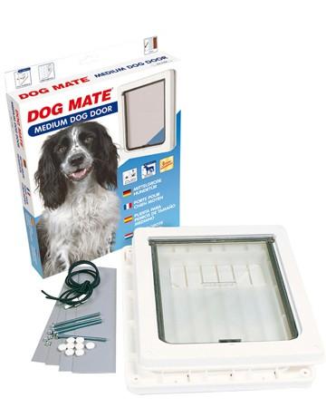 Chatiere Dog Mate chien de taille moyenne, Couleur: Marron