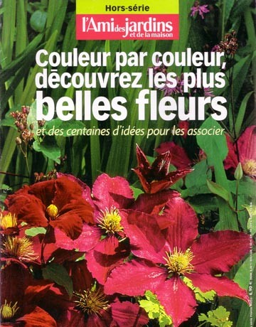 Les fleurs couleur par couleur