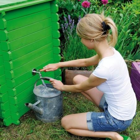 Récupérateur d'eau en bois 320L