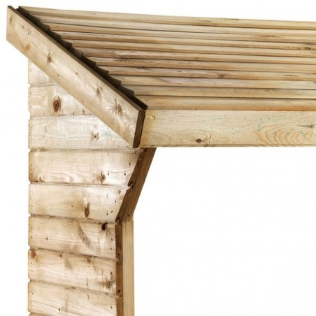 Abri bûches en bois 2 stères OLBIA
