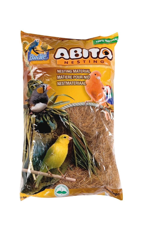 Matière pour nids en fibres de coco, sac: 300 g