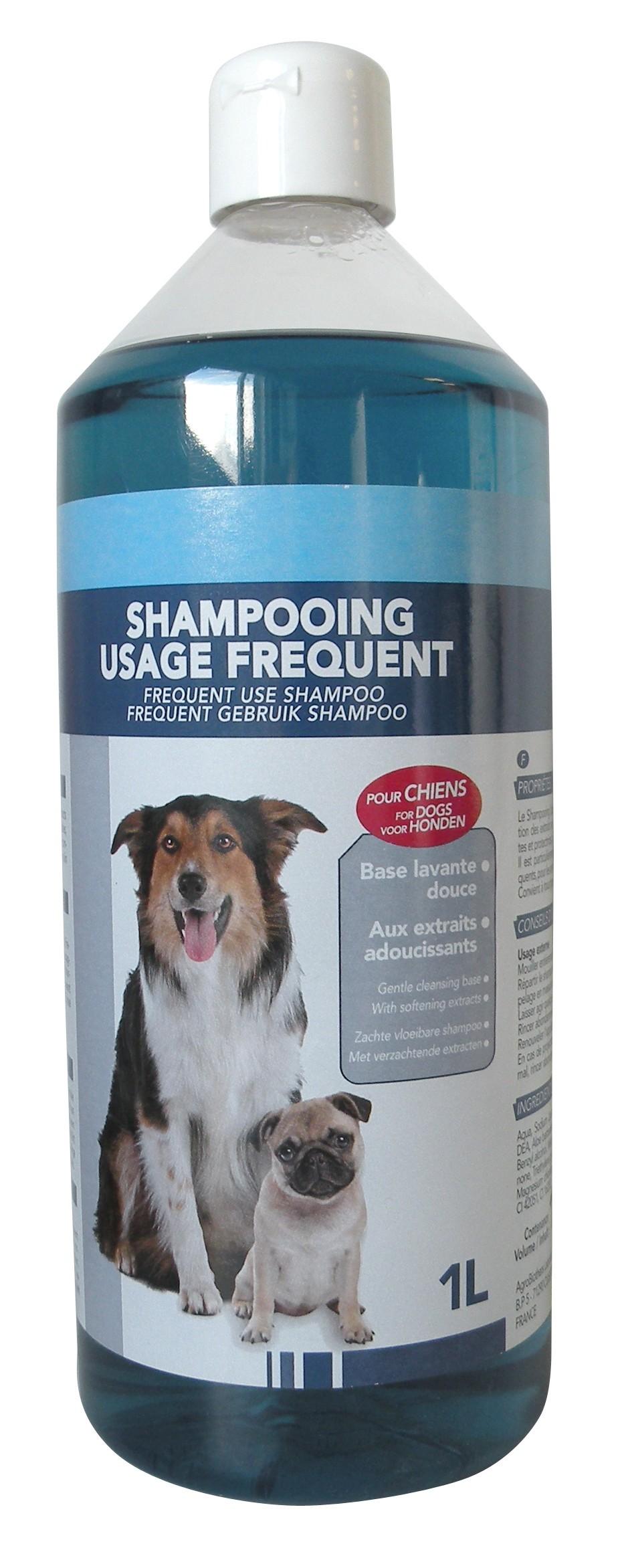 Shampooing doux chien usage fréquent 1L