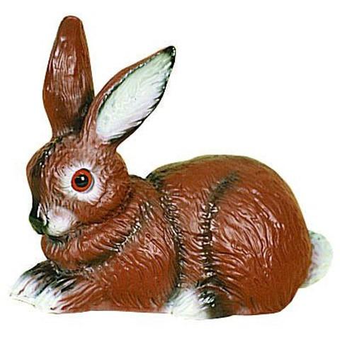 Lapin Lievre et levraut brun, Modèle: 21x23 cm