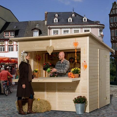 Chalet de vente Weka - Paroi 19 mm, options: Avec Plancher